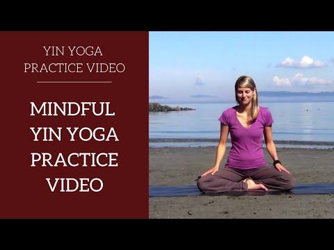 mindful yin yoga  youtube