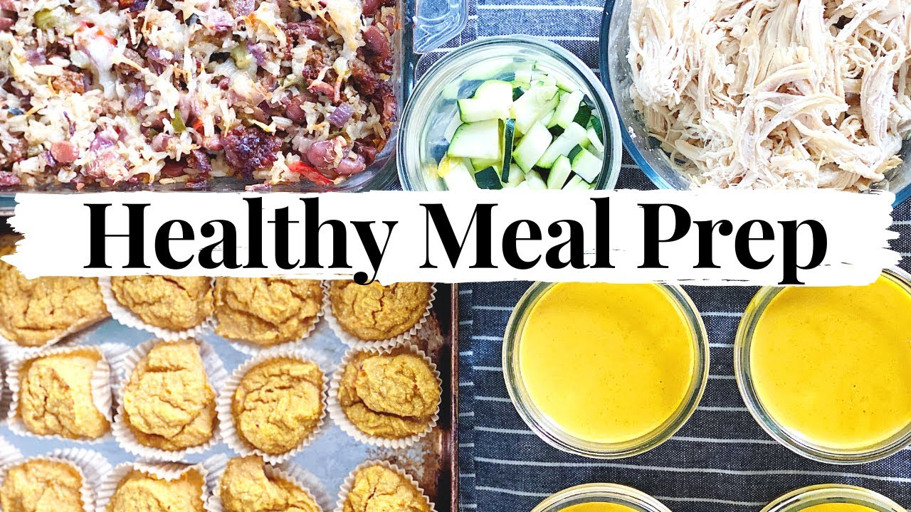 Healthy Meal Prep/Meal Planning- Family Of Three!