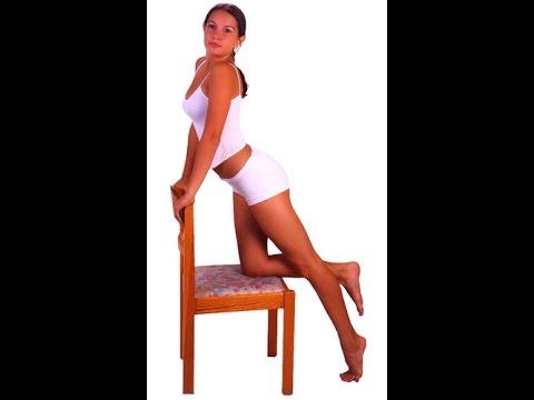 Позирование для фотосессии.  Женщины.  Позы стоя со стулом.