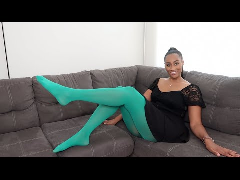 SOFSY MIRCOFIBER TIGHTS TRY ON + REVIEW
