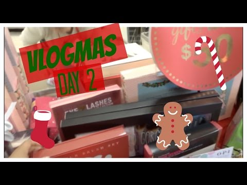 VLOGMAS | Day 2 | Got some Bad News and Doing some SHOPPING!