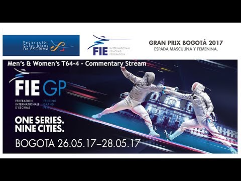 FIE Grand Prix BOGOTA 2017 Men's and Women's epée