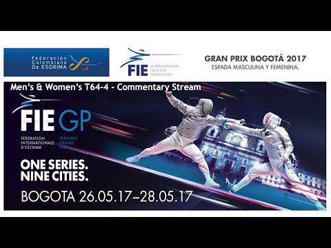FIE Grand Prix BOGOTA 2017 Men's and Women's epée