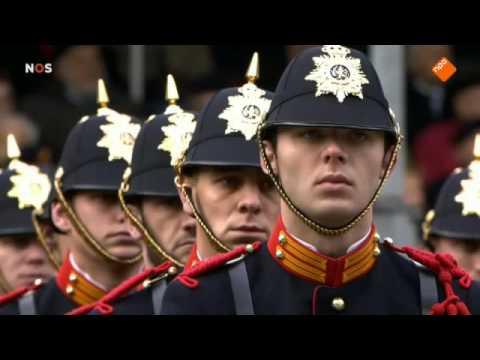 350 jaar Korps Mariniers, defile op de Coolsingel 12 dec 2015