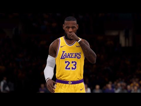 NBA LIVE 19 New Animations! Sacramento Kings vs Los Angeles Lakers - 1st Half - PS4 PRO - HD