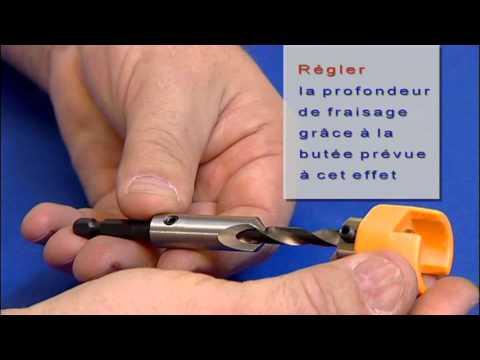 Fisch tools foret tag pour plancher de terrasse - Plancher bois pour terrasse ...