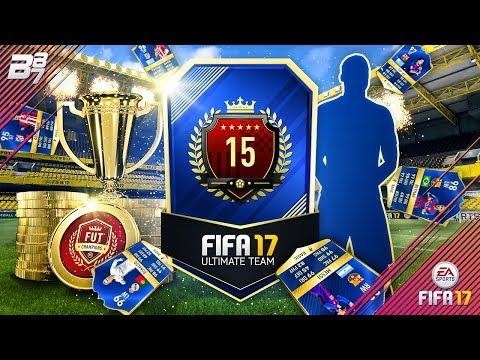 6 TOTS IN A PACK!! TOP 15 FUT CHAMPIONS REWARDS!   FIFA 17