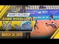 UAAP 81 WV: FEU vs. AdU | Game Highlights | March 24, 2019