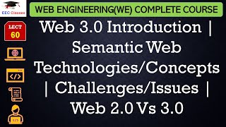 Web 3.0 Introduction | Semantic Web Technologies/Concepts | Challenges/Issues | Web 2.0 Vs 3.0