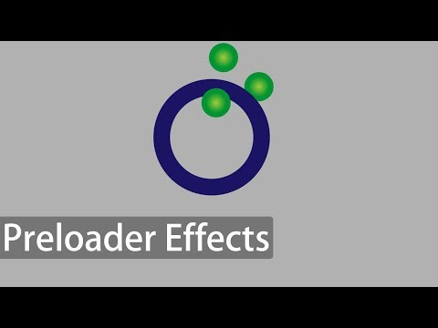 Online Tutorial for Preloader Effects 11 in CSS With Demo and Free Source  Code Download