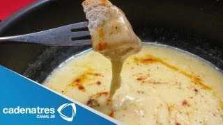 Receta para preparar fondue de cerveza. Receta de fondue / Cocinando con Marco Di Mauro