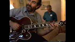 "Marcel Dadi, Nashville 1995, playing ""Cannonball Rag""."