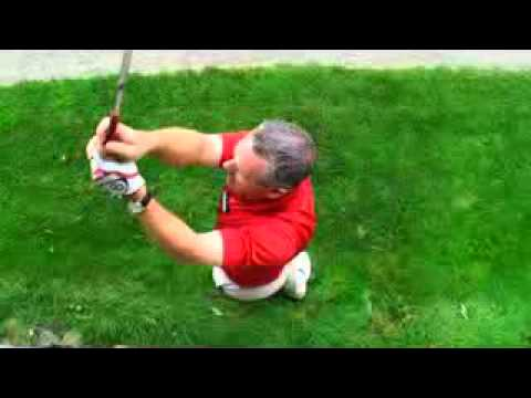 Top View of Golf Swing from Golf Pro Lesson advance
