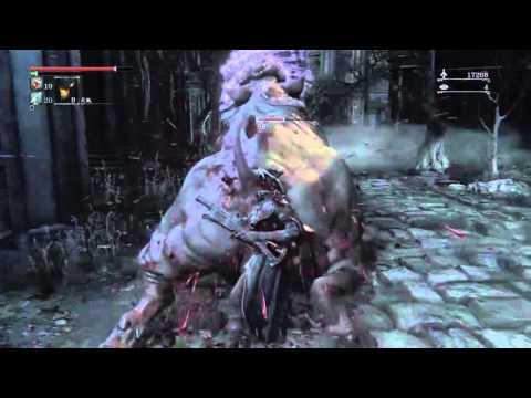 血源詛咒 DLC 神聖月光之劍+9(?)實測 - YouTube