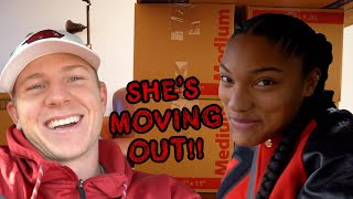 We packed up Tara's apartment and got ready to leave town! Just fin...
