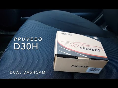Pruveeo D30H Dual Dash cam review