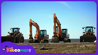 Construction Machines | Kids Song | Kids Video | Dump Truck | Loader | Bulldozer