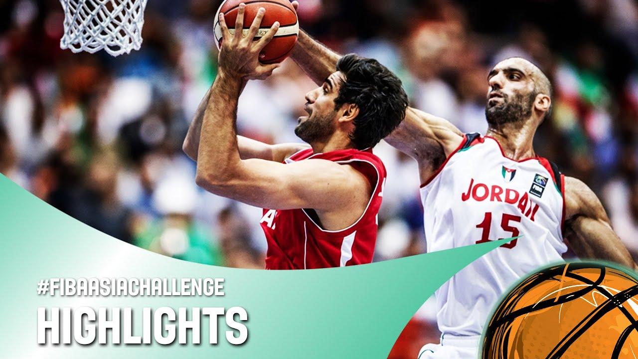 Jordan v Iran - Semi-Final Highlights