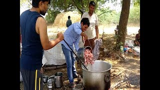 Mutton Curry RecipeII100kg telangana village style mutton receipe