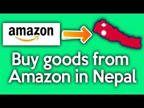 HOW TO BUY GOODS FROM AMAZON IN NEPAL (in Nepali) | Amazon बाट