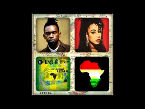 DR. ALBAN FEATURING LEILA K - HELLO AFRICA 1990 ‎