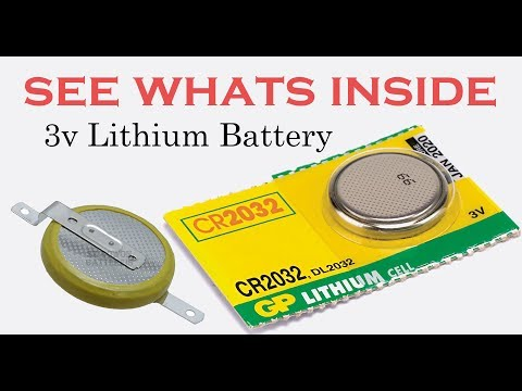 See what's inside 3v Lithium Coin Cell Battery