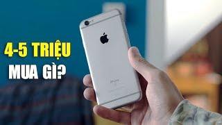 Top smartphone đáng mua nhất tầm giá 4-5 triệu đồng