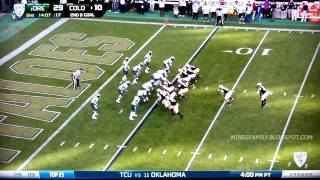 Oregon Highlights vs Colorado 10/5/2013