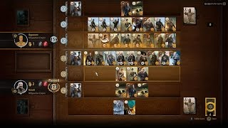 The Witcher 3 : High Stakes (Gwent Tournament )  - Sasha - Finneas + Funny ending [Death March]