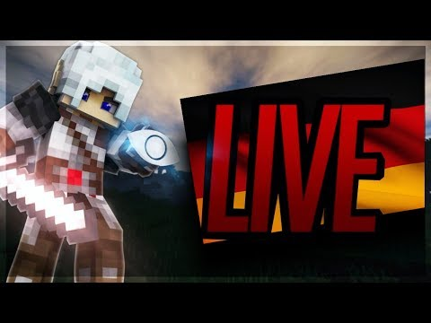 Minecraft Bedwars on German Server Neruxvace - Live Stream AyeselTPW
