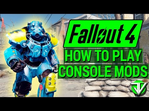 FALLOUT 4: How To Download and Play with CONSOLE MODS! (Beginner's Guide for Xbox One and PS4)