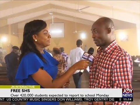 Free SHS - Joy News Interactive (11-9-17)