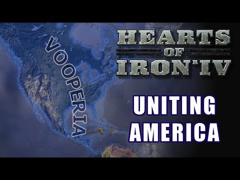 UNITING NORTH AMERICA [And Securing Oil] | Vooperian Empire #4 | Hearts of Iron 4