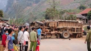 Tai nạn xe kinh hoàng tại chan đèo Sơn La quốc lộ 6