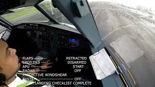 Granizo, lluvia y turbulencia durante Aproximación a Ciudad de México - Airbus A320