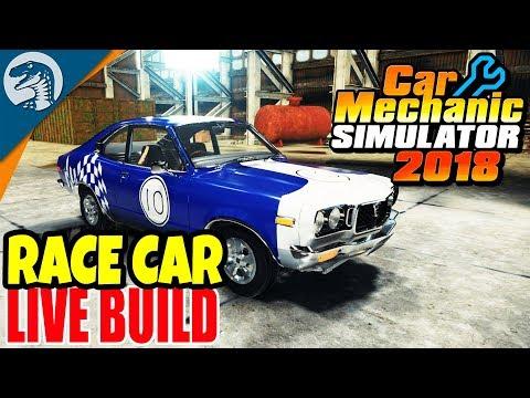 RESTORING ULTIMATE RACE CAR | Car Mechanic Simulator 2018 Gameplay