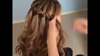 Изумительная коса-водопад