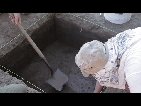 Kansas Archeological Field School Course At K-State