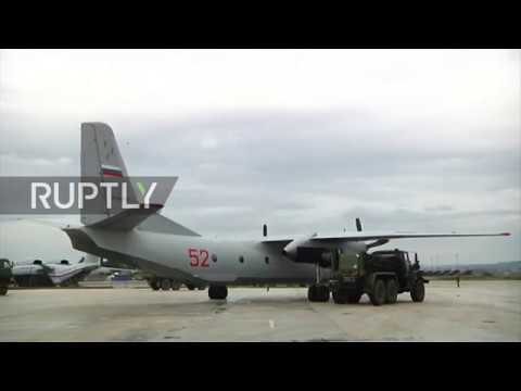 Syria: Russian humanitarian aid lands at Khmeimim airbase for New Year