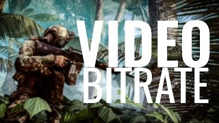 YouTube bitrate explained! (Save bandwidth without losing quality)