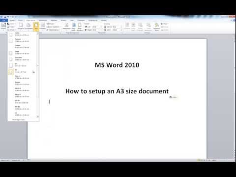 How to print poster size letters in word
