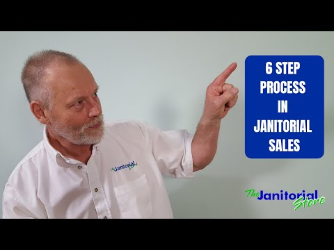 6 Step Process In Janitorial Sales