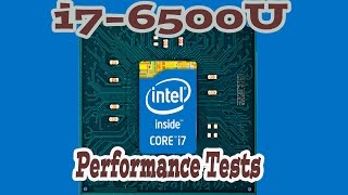 Intel i7-6500U Performance Tests