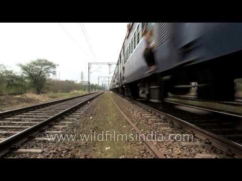 Indian railway tracks