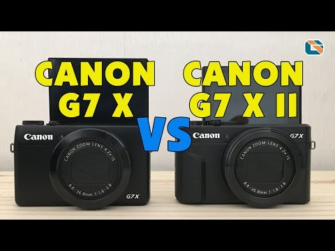 Canon PowerShot G7X Mark II vs Canon G7X Video Test #CanonG7XII
