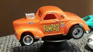 Custom HO slot cars do you like ? really cool !