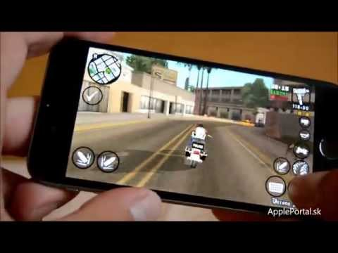 One day in San Andreas - GTA gameplay on iPhone 6