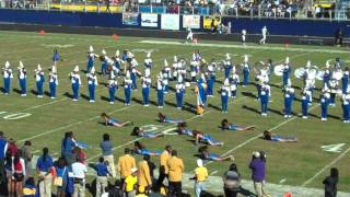 FVSU Blue Machine Marching Band Homecoming 2011 Halftime Performance
