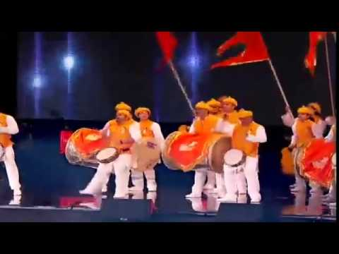 PunJaBi VS MaRaTHi VS ScotisH - Drum Beats in Front of 70,000 Audience At WemBLeY Stadium of London