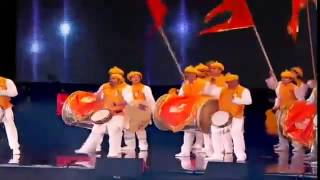PunJaBi VS MaRaTHi VS ScotisH - Drum Beats in Front of 70,000 Audience At WemBLeY Stadium of London